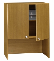 "30"" Storage Hutch - Quantum Modern Cherry Collection - Bush Office Furniture - QT231FMC"