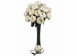 "31"" Large Rose Stem (Set of 12) - Nearly Natural - 2127-WH"