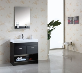 "35"" Bathroom Vanity with Free Mirror - Virtu USA Bathroom Vanities - MS-555"