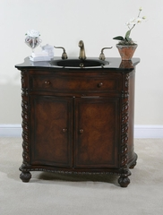 35 Inch Vanity in Mahogany - Ultimate Accents - 12722S