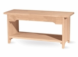 "36"" Brookstone Bench - BE-36"