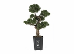 "36"" Cedar Bonsai Silk Plant in Green - Nearly Natural - 4100"