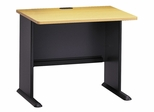 "36"" Desk - Series A Beech Collection - Bush Office Furniture - WC14336"