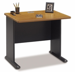 "36"" Desk - Series A Natural Cherry Collection - Bush Office Furniture - WC57436"