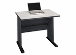"36"" Desk - Series A Slate Collection - Bush Office Furniture - WC8436A"