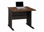 "36"" Desk - Series A Walnut Collection - Bush Office Furniture - WC25536"