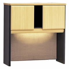 "36"" Hutch - Series A Beech Collection - Bush Office Furniture - WC14337"