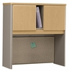 "36"" Hutch - Series A Light Oak Collection - Bush Office Furniture - WC64337"