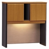 "36"" Hutch - Series A Natural Cherry Collection - Bush Office Furniture - WC57437"
