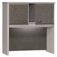 "36"" Hutch - Series A Pewter Collection - Bush Office Furniture - WC14537"