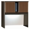 "36"" Hutch - Series A Walnut Collection - Bush Office Furniture - WC25537"