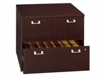 "36"" Lateral file - Quantum Harvest Cherry Collection - Bush Office Furniture - QT256FCS"