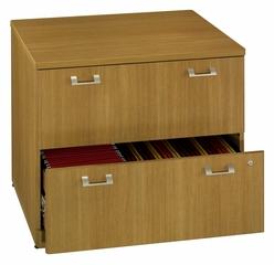 "36"" Lateral file - Quantum Modern Cherry Collection - Bush Office Furniture - QT256FMC"