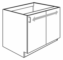 "36"" Lower Blind Corner Cabinet - Prepac Furniture - BC-3636-F"