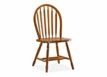 "36"" Windsor High Arrowback Chair with Turned Legs in Medium Oak - 1C04-140"