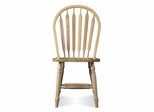 "38"" Windsor High Arrowback Chair with Turned Legs in Natural - C01-213"