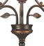 3Lt Garden Leaf Fixture - Dale Tiffany - TH70540