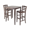 3Pc Inglewood Pub Set - Winsome Trading - 94379