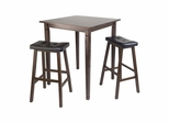 3Pc Kingsgate Pub Dining Table - Winsome Trading - 94399
