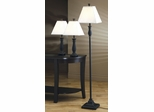 3PC Lamp Set in Black - 901145