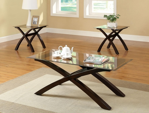 3Pc Occasional Set with Cocktail Table and 2 End Tables - 701610