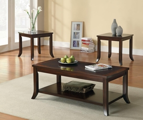 3PC Occasional Tables with Flared Legs - 701582