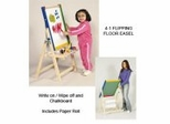 4-1 Flipping Floor Easel - Guidecraft - G51085