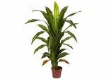 4' Dracaena Silk Plant (Real Touch) - Nearly Natural - 6650