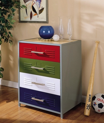 4-Drawer Dresser - Teen Trends - Powell Furniture - 517-008