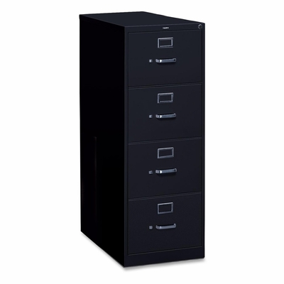 4 Drawer Legal File - Black - HONH324CP