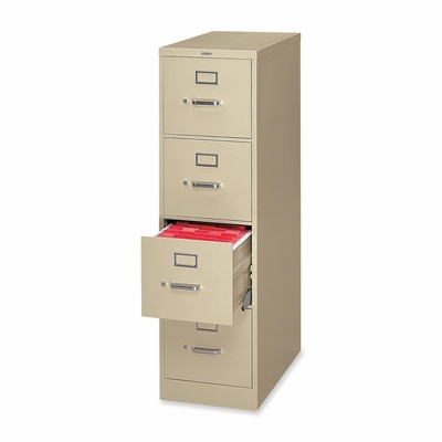 4 Drawer Letter File - Putty - HONH324L