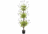 4' Lavender Topiary Silk Tree - Nearly Natural - 5332