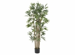 4' Multi Bambusa Bamboo Silk Tree in Green - Nearly Natural - 5280
