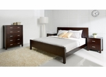 4-Piece Bedroom Furniture Set with Queen Size Bed - Hamptons - Abbyson Living - HM-5000-QN4