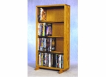 4 Row Dowel 120 Capacity DVD Cabinet Tower - 415-18