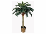 4' Sago Silk Palm Tree in Green - Nearly Natural - 5043