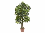 4' Schefflera Silk Tree in Green - Nearly Natural - 5305