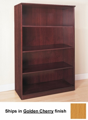 4 Shelf Bookcase in Golden Cherry - Mayline Office Furniture - VB4GCH