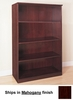 4 Shelf Bookcase in Mahogany - Mayline Office Furniture - VB4MAH