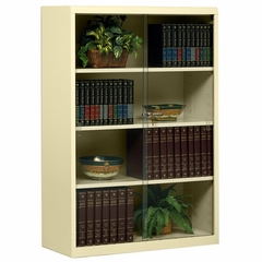 4 Shelf Bookcase - Sand - TNN352GLSD