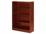 4 Shelf Panel Bookcase - Cherry - LLR89052