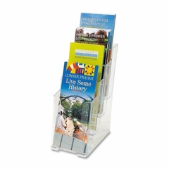 4-Tier Clear Literature Holder - DEF77701