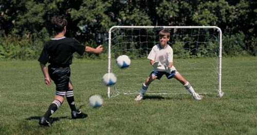 4' x 6' Competition Soccer Goal - Franklin Sports