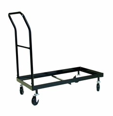40 Chair Plastic Folding Chair Dolly in Grey - ACT1000DY