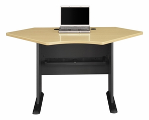 "42"" Corner Desk - Series A Beech Collection - Bush Office Furniture - WC14342"
