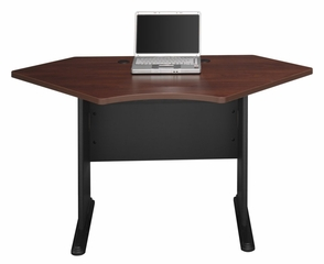 "42"" Corner Desk - Series A Hansen Cherry Collection - Bush Office Furniture - WC94442"