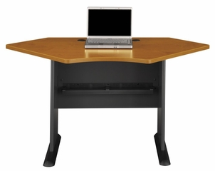 "42"" Corner Desk - Series A Natural Cherry Collection - Bush Office Furniture - WC57442"