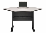 "42"" Corner Desk - Series A Slate Collection - Bush Office Furniture - WC84842"