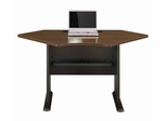 "42"" Corner Desk - Series A Walnut Collection - Bush Office Furniture - WC25542"