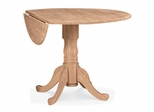 "42"" Dual Drop Leaf Table - T-42DP"